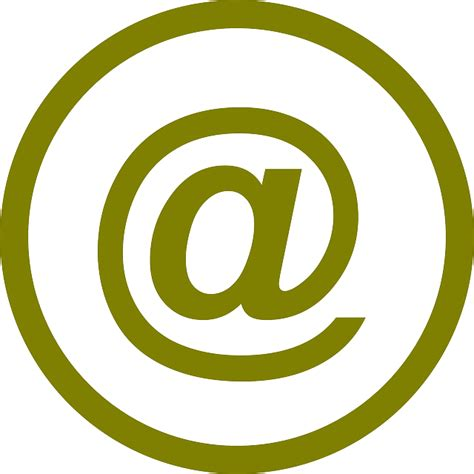 Address Image by Symbol Email At 183 Free Vector Graphic On Pixabay