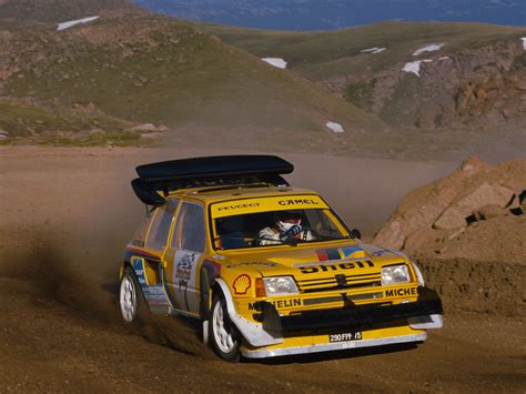 Peugeot Pikes Peak by Peugeot 205 T16 Pikes Peak Photos Photogallery With 3
