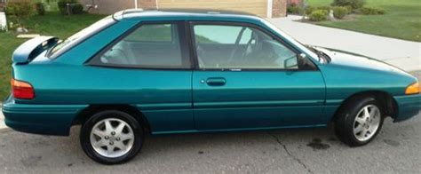 buy   ford escort lx sport hatchback  door