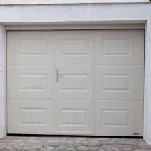 Porte De Garage Avec Portillon Pas Cher : porte de garage sectionnelle avec portillon la toulousaine ~ Nature-et-papiers.com Idées de Décoration