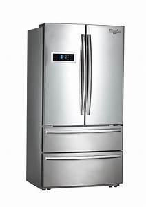 Door: Cool Whirlpool French Door Refrigerator Design ...