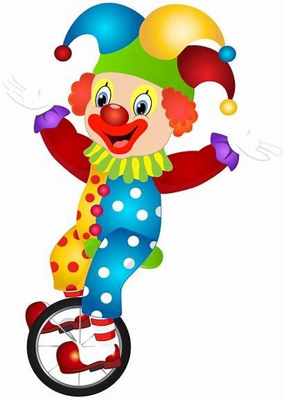 Clown Clipart Clip Transparent Jester Happy Birthday