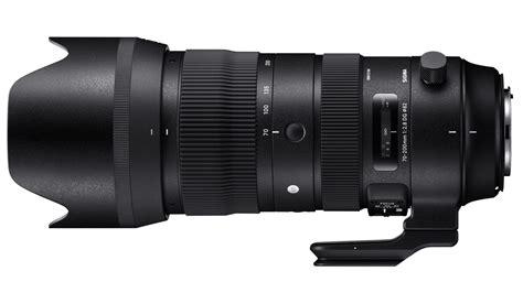 Sigma Announces 70-200 F/2.8 Sport, Four More Lenses
