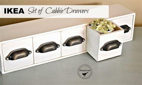 ikea organizer set  cubbie drawers homeroad