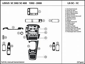 Service Manual 1993 Lexus Sc Transmission Diagram For A