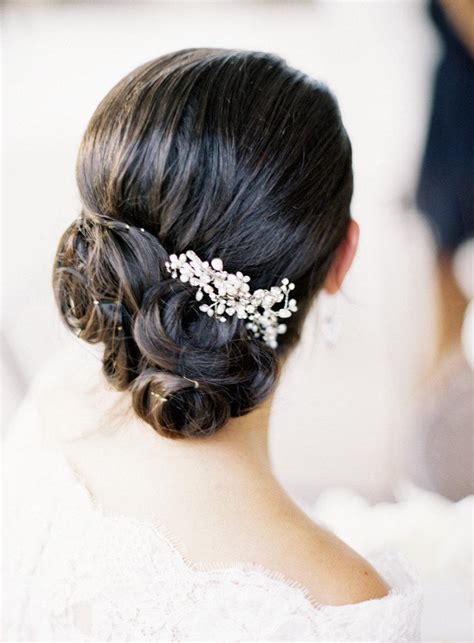 chic unique updo wedding hairstyles weddbook