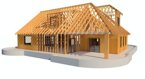 framing timber walls  revit model wood framing wall agacad toolsbim