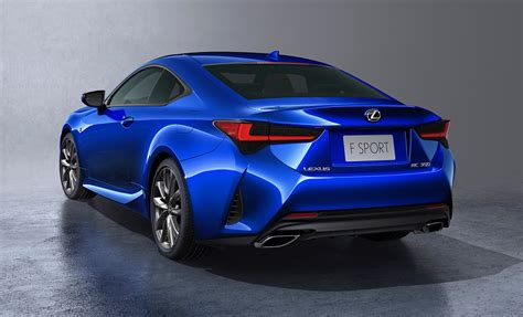 lexus rc   facelift   retuned suspension
