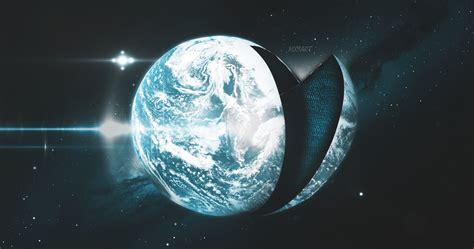 Earth Photo Manipulation Photoshop Space Dark