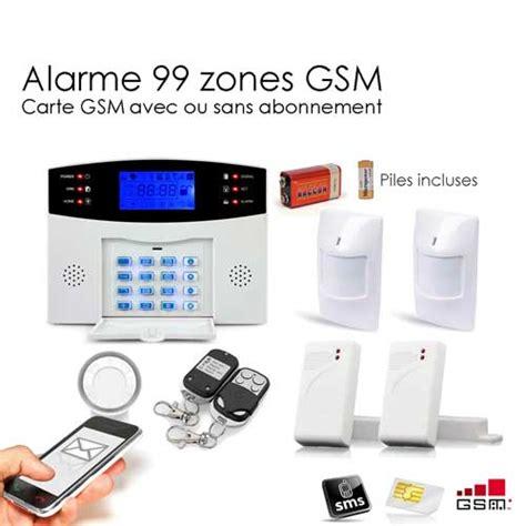 alarme maison sans fil gsm 99 zones medium toutes les