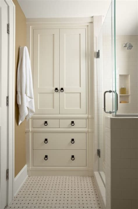 built in bathroom cabinets getting ready for a bathroom reno home bunch interior