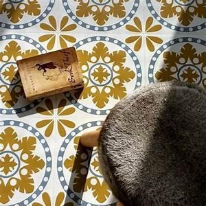 Tapis Motif Carreaux De Ciment : 1001 id es pour d corer l 39 espace avec le sol vinyle imitation carreau de ciment ~ Teatrodelosmanantiales.com Idées de Décoration