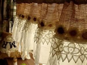 Rideau Toile De Jute : les 25 meilleures id es de la cat gorie rideaux de cantonni re sur pinterest rideaux de butin ~ Teatrodelosmanantiales.com Idées de Décoration