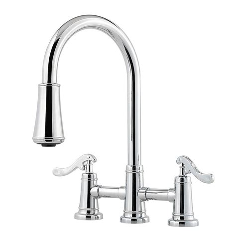 kitchen faucets pull pfister ashfield 2 handle pull sprayer kitchen faucet