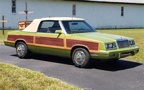 Planes, Trains and Automobiles! 1983 Chrysler LeBaron ...