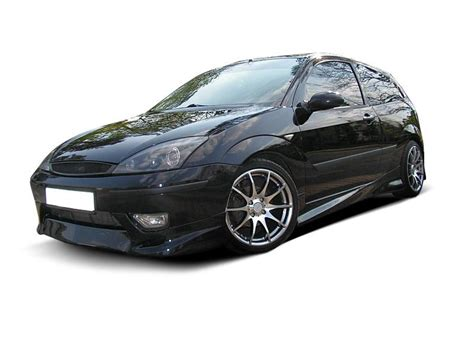 ford focus mk1 side skirts 3 door hatchback styling bpp tuning