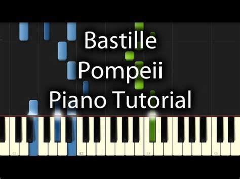Bastille - Pompeii Sheet Music for Piano | Free PDF ...