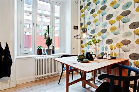 tapisserie de cuisine moderne appartement design deco cuisine vintage tapisserie