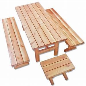 Table Exterieur En Bois : table en bois exterieur ~ Teatrodelosmanantiales.com Idées de Décoration