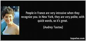 People in Franc... New France Quotes