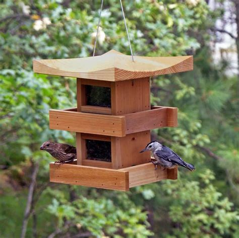 unique bird feeders pagoda bird feeder multi level pagoda feeders unique