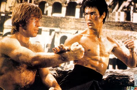 chuck norris vs bruce lee fearless men quotes volume i