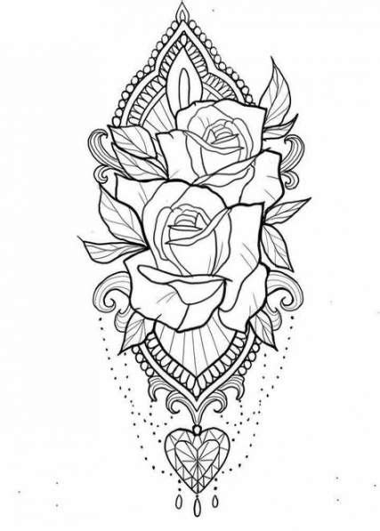 Pin by Coloring Pages for Adults on Floral Coloring Pages