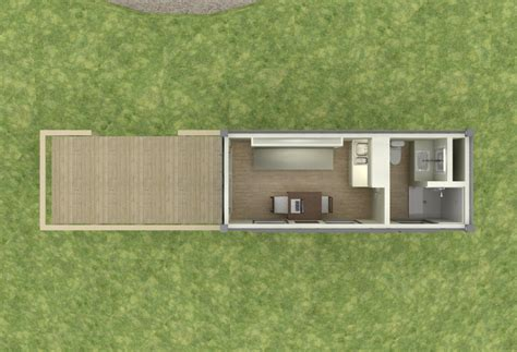 Shipping Container Cabin Floor Plans by Shipping Container Based Remote Cabin Design Tiny House