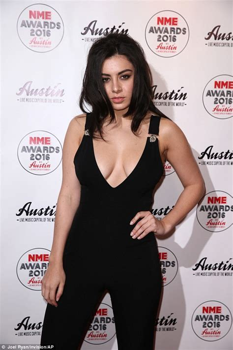 Charli XCX shows off her incredibly ample assets at 2016