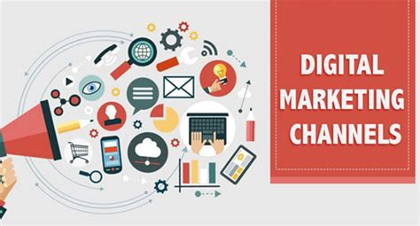digital school of marketing list of digital marketing channels school of digital