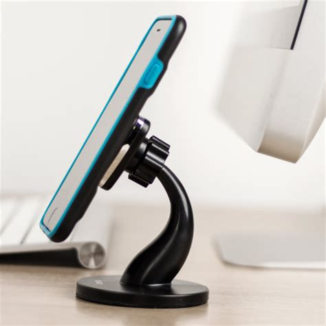 support de bureau pour smartphone support bureau magnétique universel pour smartphone olixar