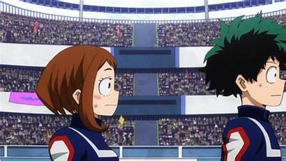 Mei Anime Hero Academia Enthusiasm Hatsume Academy