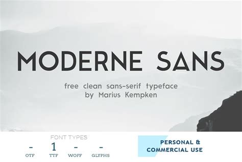 54 best free professional fonts trending in 2017