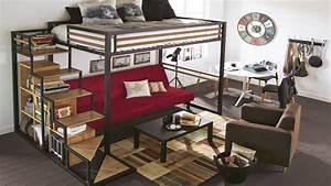 comment amenager une chambre avec mezzanine With chambre avec lit mezzanine