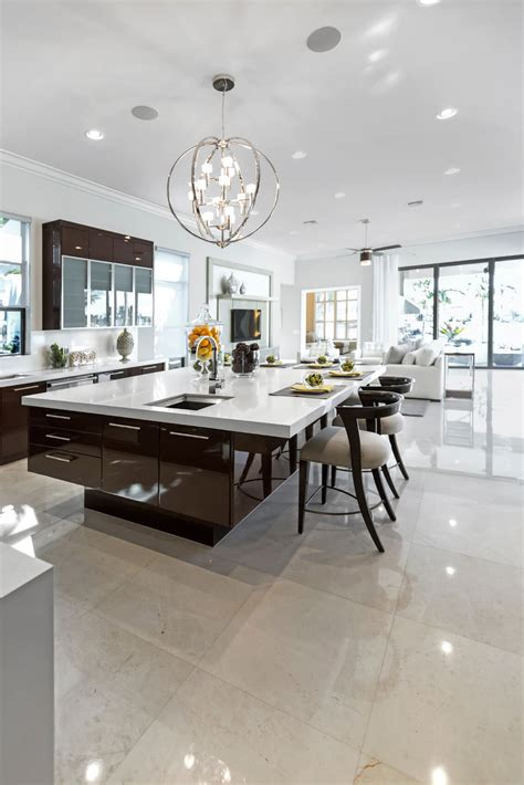 kitchens with large islands 84 custom luxury kitchen island ideas designs pictures