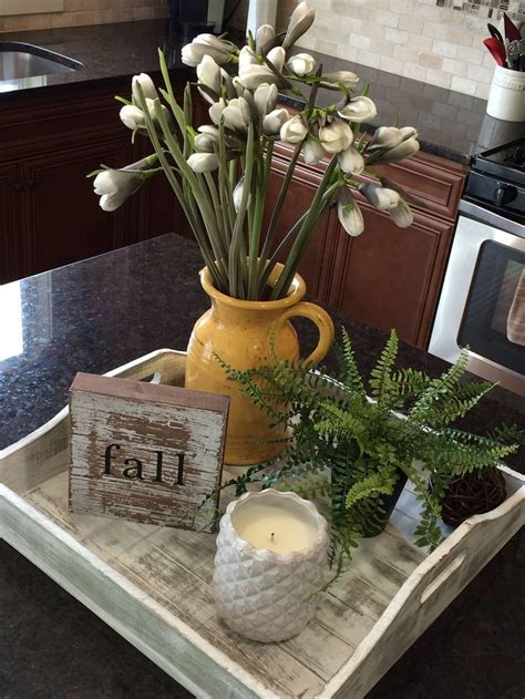 kitchen island decorating this decor idea for a kitchen island or peninsula