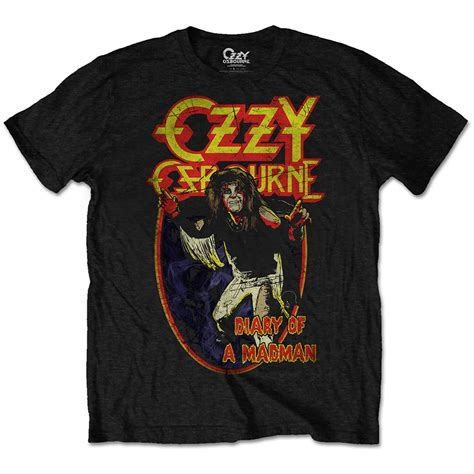 ozzy osbourne diary of a mad t shirt