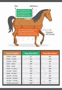 Horse Cover Sizing Chart