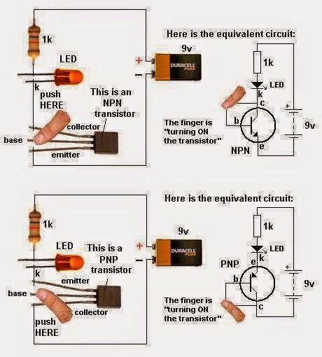 Led Torch Light Circuit Circuitos Gral