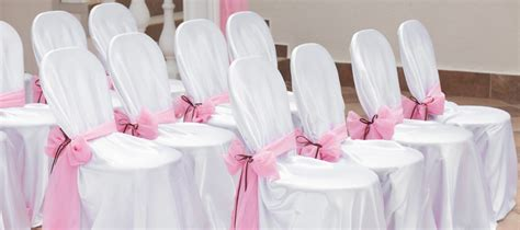 housse de chaise ronde mariage housses de chaises et noeuds de chaises pour décoration de