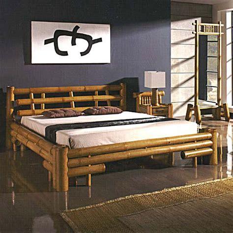 conforama rangement chambre lit bambou lambok un meuble d 39 exception aux lignes épurées