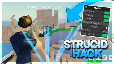 strucid hack unlimited money aimbot silent aim shoot