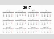Calendar 2017 Download Printable calendars of 2017 for free