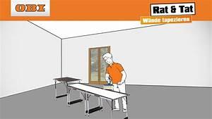 Fenster Tapezieren Anleitung : w nde tapezieren tapezieren anleitung rat tat youtube ~ Lizthompson.info Haus und Dekorationen