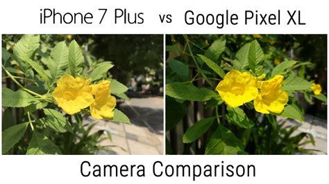 pixel xl vs iphone 7 plus comparison