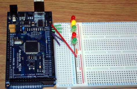 an interactive traffic lights using arduino 아두이노를 위한 프로그래밍 기초 7 for 반복문 copy arduino 44534