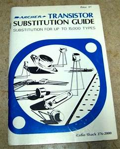 1972 Archer Transistor Substitution Guide Up To 15000