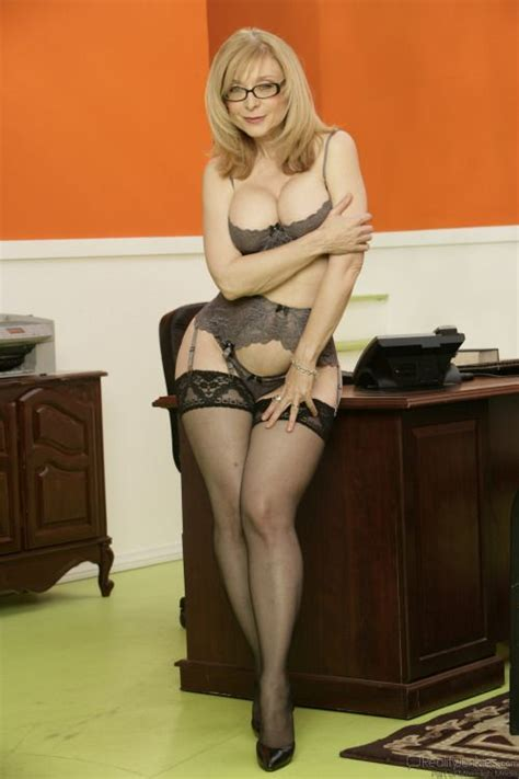 Hey Little Mom Muaaaah Renegade Pinterest Nina Hartley Lingerie And Stockings