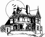 Haunted Coloring Halloween Pages Drawing Cartoon Houses Mansion Drawings Printable Sheets Bing Scooby Doo Draw Colouring Advanced Characters Google Adult sketch template