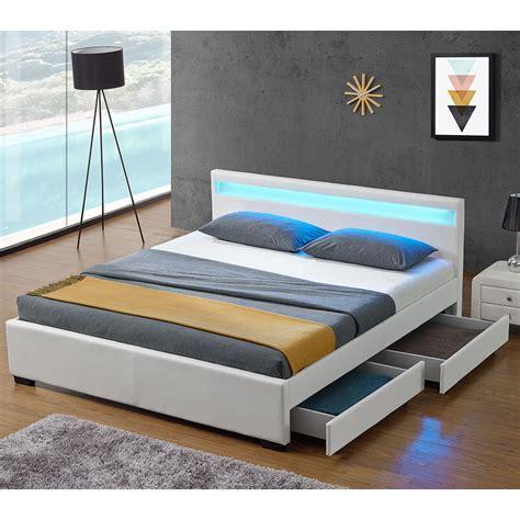 Bett Bettkasten 140x200 by Polsterbett Lyon Mit Bettkasten 140 X 200 Cm Wei 223